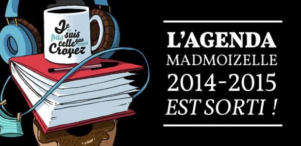 L'agenda madmoiZelle 2014-2015 est sorti !