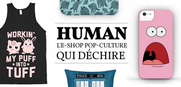 Human, l'e-shop pop-culture qui déchire