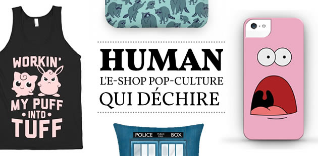 Human, l'e-shop pop-culture qui déchire