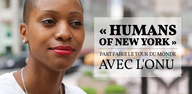 « Humans of New York » part faire le tour du monde avec l'ONU
