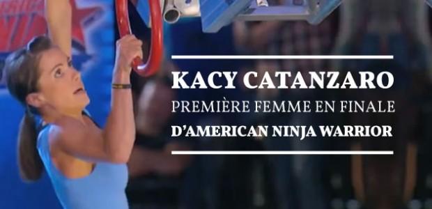 Kacy Catanzaro, première femme en finale d'American Ninja Warrior