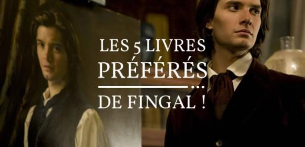 Les 5 livres préférés de… Fingal !