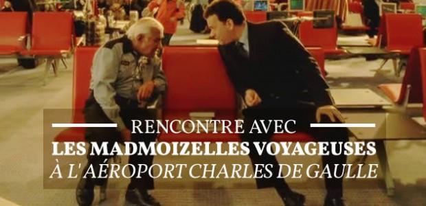Rencontre avec les madmoiZelles voyageuses à l'aéroport Charles de Gaulle