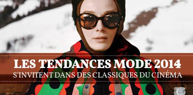 Les tendances mode 2014 s'invitent dans des classiques du cinéma