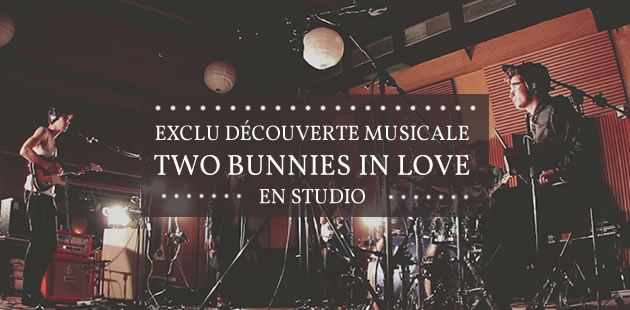 Two Bunnies in Love – Session exclu en studio
