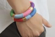 DIY — Des bracelets colorés ultra-simples à réaliser