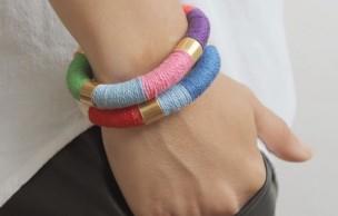 Lien permanent vers DIY — Des bracelets colorés ultra-simples à réaliser