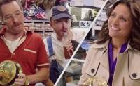 Bryan Cranston et Aaron Paul jouent aux kékos face à Julia Louis-Dreyfus