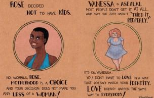 Lien permanent vers Les illustrations féministes de Carol Rossetti