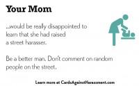 Des cartes pour lutter contre le harcèlement de rue