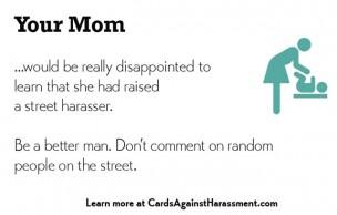 Lien permanent vers Des cartes pour lutter contre le harcèlement de rue