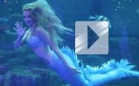 Claire la Sirène bleue et son spectacle en vidéo