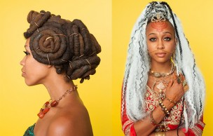 Lien permanent vers Les coiffures afro-punk immortalisées par Awol Erizku