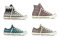 La collection Converse par Missoni sortira en septembre 2014 !