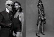 Conchita Wurst pose pour Karl Lagerfeld dans CR Fashion Book