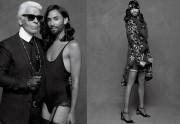 Conchita Wurst pose pour Karl Lagerfeld dans CR Fashion Book