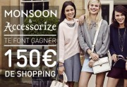 Monsoon et Accessorize vous offrent 150€  de shopping !