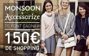 Lien permanent vers Monsoon et Accessorize vous offrent 150€  de shopping !