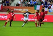 Lien permanent vers Coupe du Monde de rugby féminin : les Françaises s'arrêtent en demi-finales