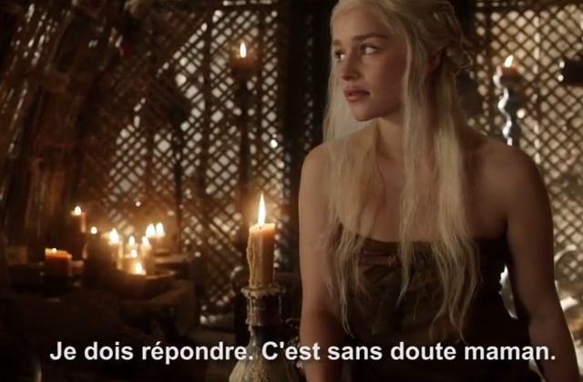 Game of Phones dénonce les téléphones relous de Westeros