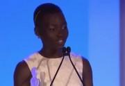 Lupita Nyong'o et son discours poignant sur la beauté des femmes noires