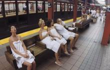 Quand le métro new-yorkais se transforme en spa