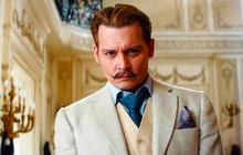 «Mortdecai », avec un Johnny Depp moustachu, a sa bande-annonce