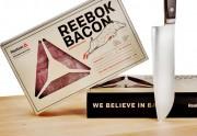 Reebok lance sa propre ligne... de bacon