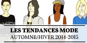 tendances mode automne hiver 2014 2015