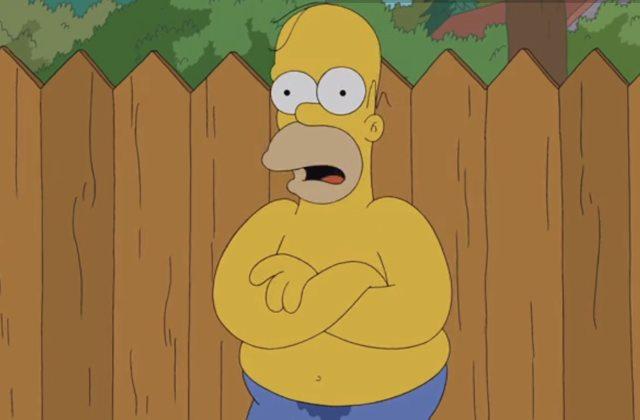 Homer Simpson a relevé le Ice Bucket Challenge