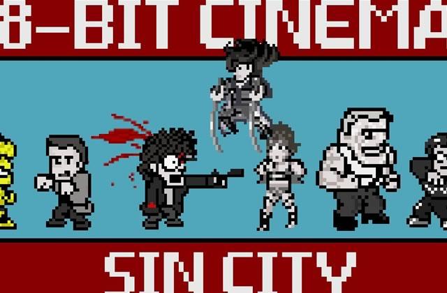 Sin City version 8-bits