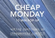 Lien permanent vers Cheap Monday lance l'opération 10 min pop-up