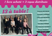Lien permanent vers « 13 à table » : les auteurs français se bougent pour les Restos du Coeur