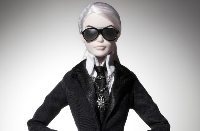 La Barbie Lagerfeld débarque — WTF Mode