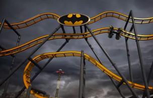 Lien permanent vers Le roller-coaster Batman, pour frôler la mort façon Gotham City