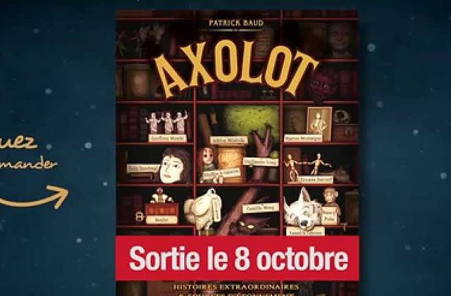 Axolot, la BD, sort aujourd'hui !