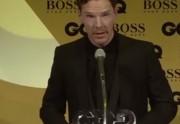 Lien permanent vers Benedict Cumberbatch fait son discours tout saoul aux GQ Awards