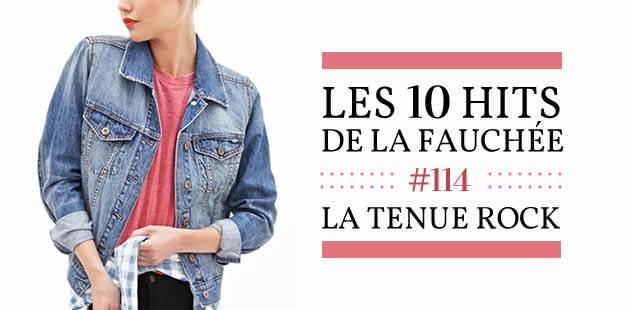 Les 10 Hits de la Fauchée #114 – La tenue rock