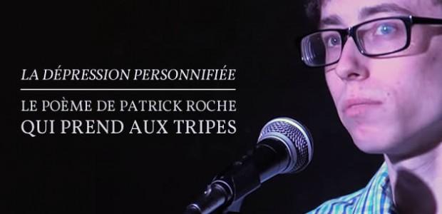 La dépression personnifiée, le poème de Patrick Roche qui prend aux tripes