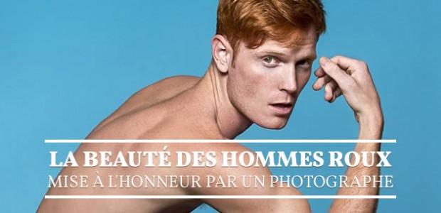 La beauté des hommes roux mise à l'honneur par un photographe
