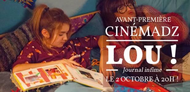 CinémadZ exceptionnel — Lou ! en avant-première le 2 octobre
