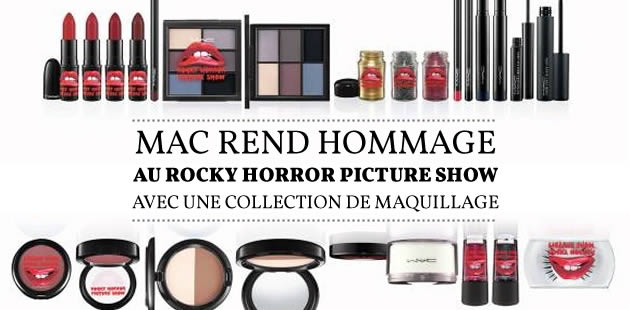 MAC rend hommage au Rocky Horror Picture Show avec une collection de maquillage