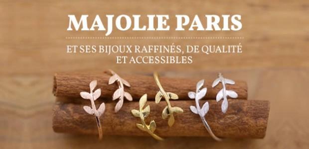 Majolie Paris et ses bijoux raffinés, de qualité et accessibles