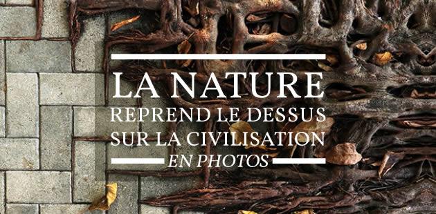 La nature reprend le dessus sur la civilisation… en photos
