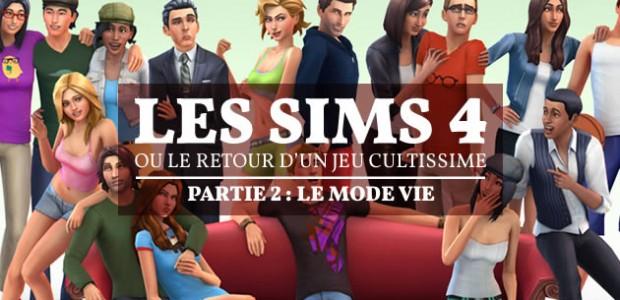 Les Sims 4, ou le retour d'un jeu cultissime — Partie 2 : le mode vie