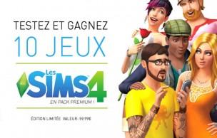 Lien permanent vers Les Sims 4 (en pack premium) à gagner et à tester — Concours