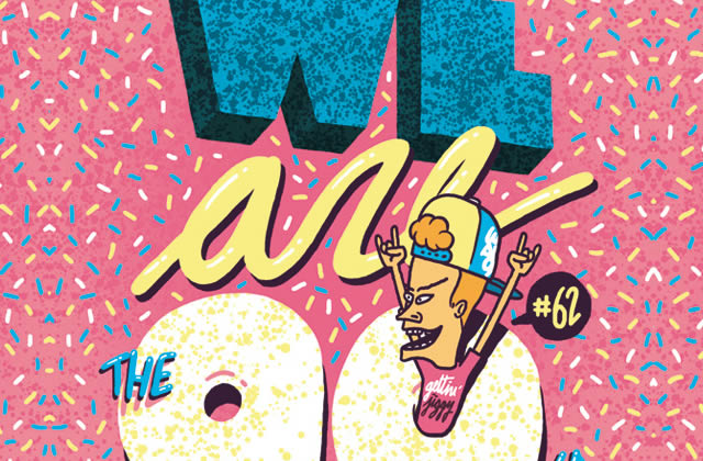 5×2 places à gagner pour la We Are The 90's du vendredi 3 octobre 2014 !