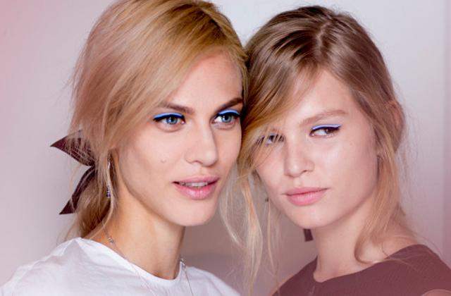 L'eye-liner cuir, une tendance à suivre ?
