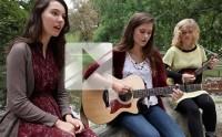Lily & Madeleine chantent «Fumes » en acoustique