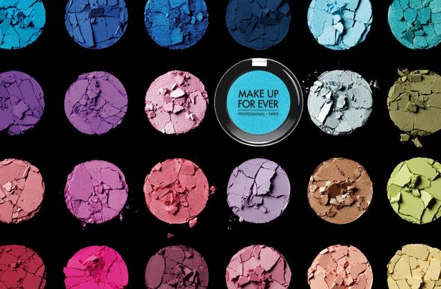 Make Up For Ever sort 210 nouveaux fards à paupières
